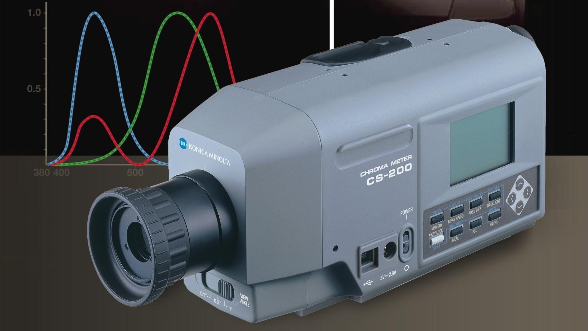 Minolta Cs-100 Luminance Meter Minolta Cs-200 / Ls-100